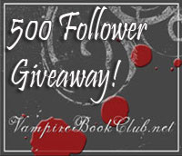 Vampire Book Club's 500 Follower Giveaway!