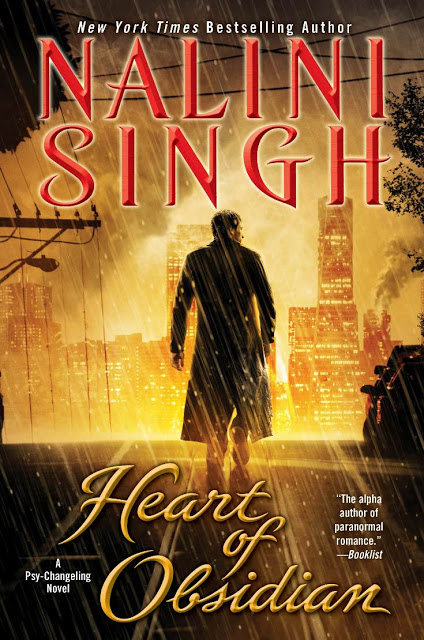 Heart of Obsidian by Nalini Singh (Psy/Changeling #12)
