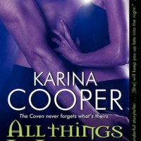 Auction: Signed set of Dark Mission novels from Karina Cooper and Character Name [Books Fighting Cancer]
