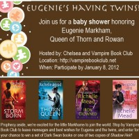 Baby Shower for Eugenie Markham (Richelle Meads Dark Swan series)