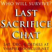 Mark Your Calendars: Last Sacrifice Chat Dec. 4